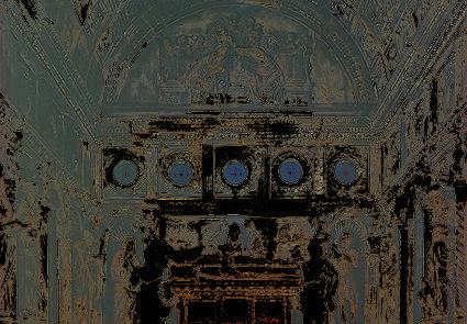 Cappella Orsini prima del restauro