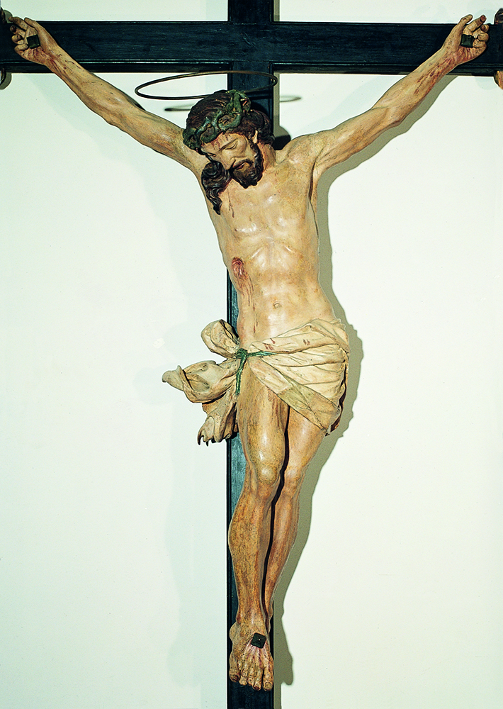 Crocifisso ligneo Basilica dei Santi Giovanni e Paolo
