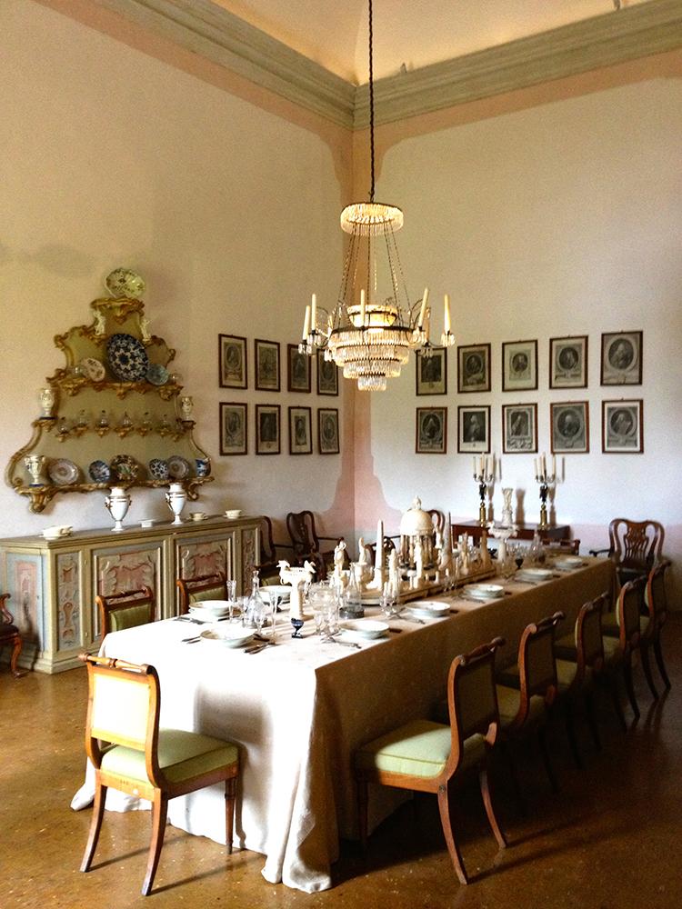 Sala da Pranzo, Villa Pisani, Stra - venetian heritage