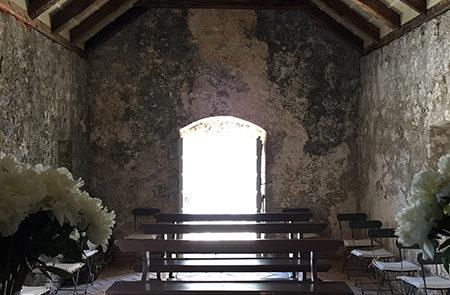 La cappella di Santa Caterina dopo restauro