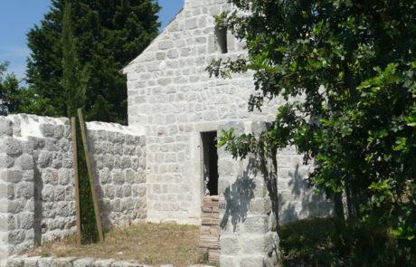 La cappella di Santo Spirito dopo restauro