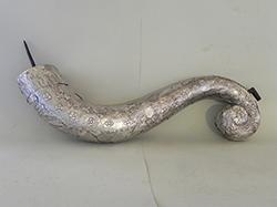 Portaceneri in argento dopo restauro