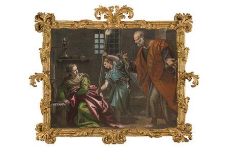 Sant'agata in prigione, P. Veronese sito