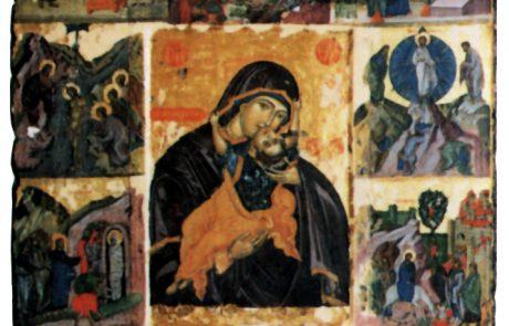 Icona Panaghia Pausolypi - La Vergine con Bambino