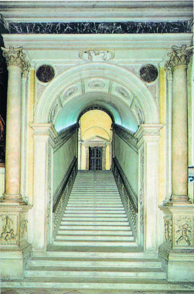Arco della scalinata Scuola Grande di San Rocco