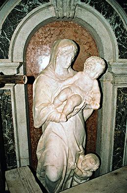 Personificazione della Virtù dopo restauro