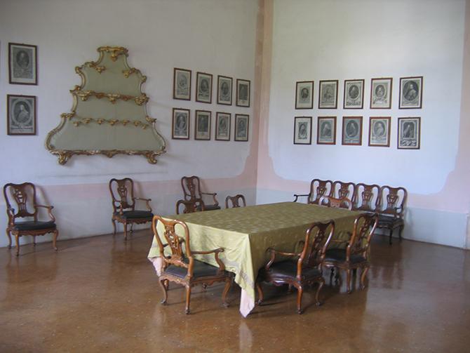 Sala da pranzo pima