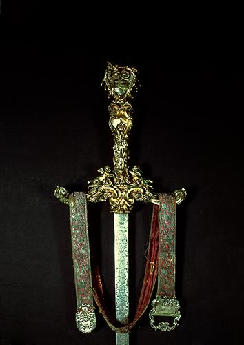 Spada cerimoniale e cintura del Doge Francesco Morsini