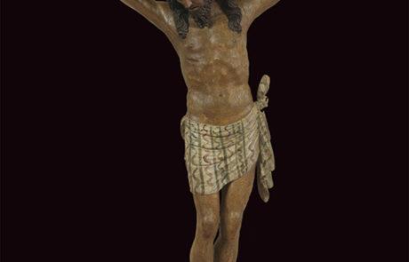 Crocifisso ligneo San Simeon Piccolo generale