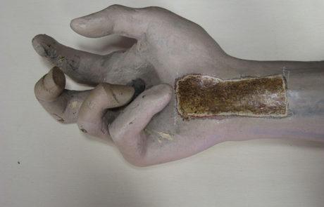 Dettaglio mano