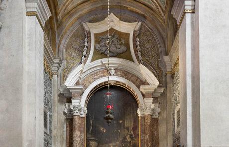 La cappella di San Lorenzo dopo il restauro
