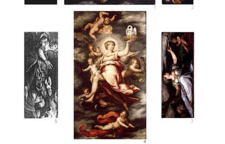 Ricomposizione dei pannelli del soffitto de Palazzo Spinelli