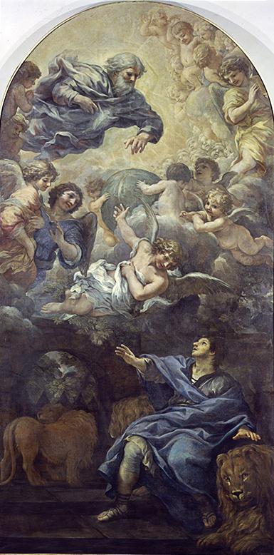 Berettini P d da Cortona - Daniele nella fossa dei leoni (sala 5)